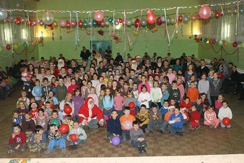 Festyn świąteczny- dzieciaki
