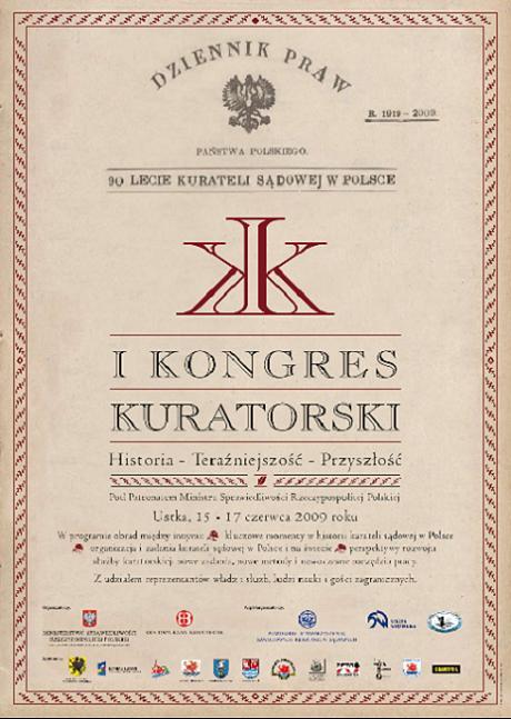 I Kongres Kuratorski- plakat