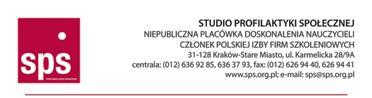 Studium Profilaktyki Społecznej wKrakowie- logo