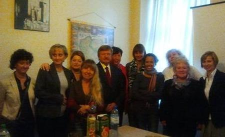 Wizyta stażystów francuskich wKrakowie - październik 2011.