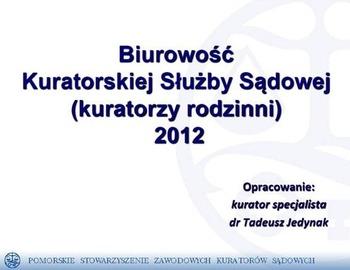Biurowość KSS - 2012.