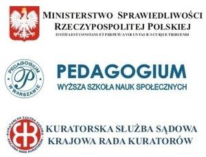 Ministerstwo Sprawiedliwości, Pedagogium WSNS W-wa, Krajowa Rada Kuratorów