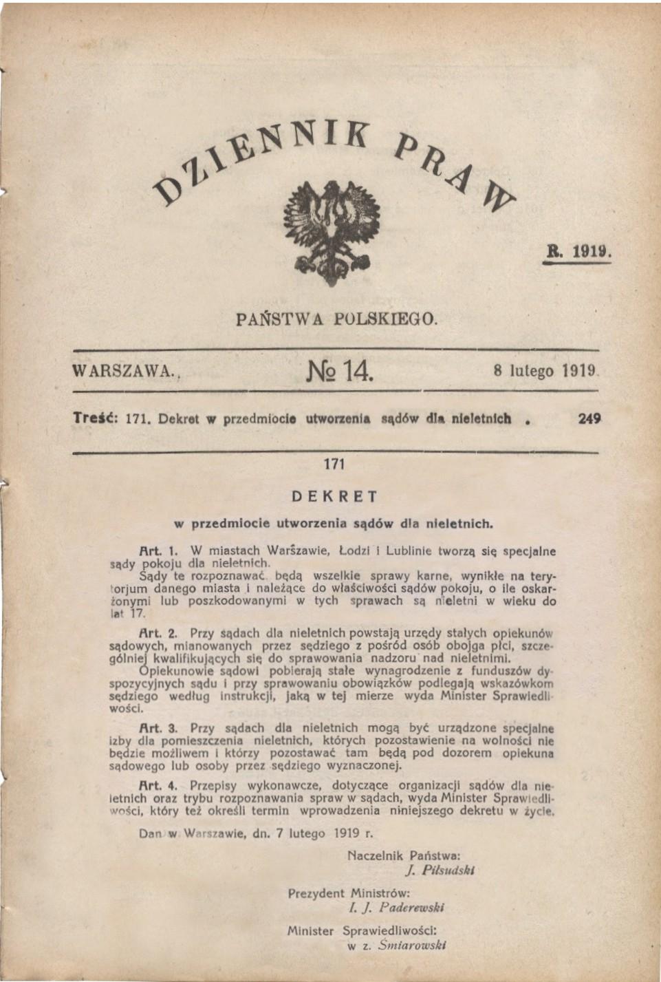 Dekret- dziennik praw